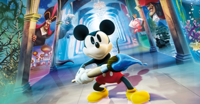 epic mickey illusion