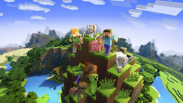GTAV and Minecraft Top the Italian Charts