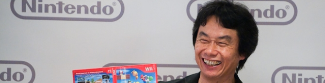 Miyamoto Says Nintendo is Working on New IP