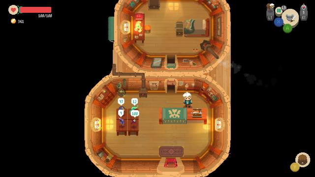 Moonlighter shop