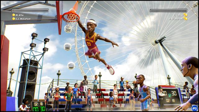 NBA Playgrounds LeBron