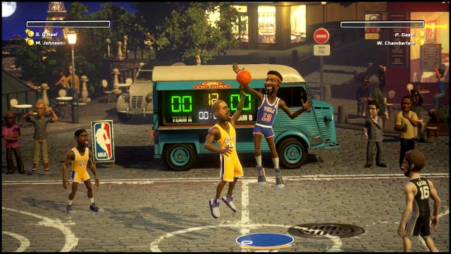 NBA Playgrounds legends