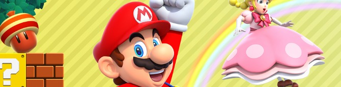 New Super Mario Bros. U Deluxe Debuts at the Top of the Swiss Charts