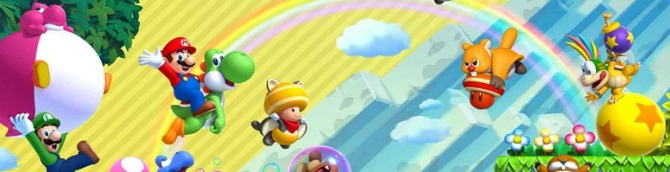 New Super Mario Bros. U Deluxe Retakes the Top Spot on the Swiss Charts