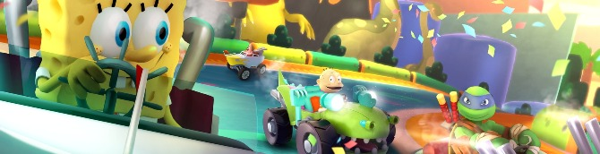 Nickelodeon Kart Racers Gets Debut Trailer