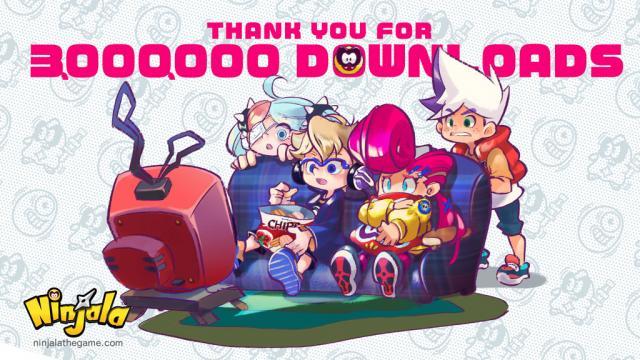 Ninjala Tops Three Million Downloads