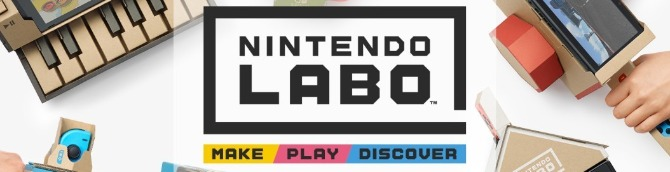 Nintendo Labo Sells an Estimated 316,753 Units First Week at Retail
