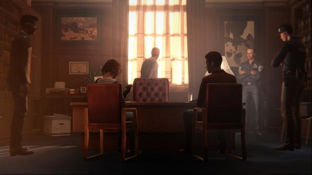 Meeting at the school Life is Strange Episode 2