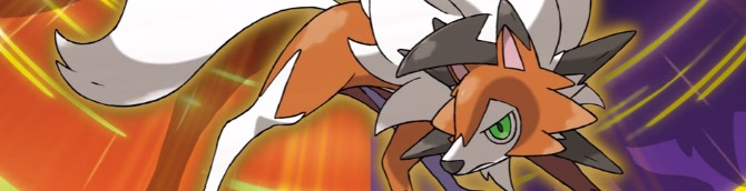 Pokemon Ultra Sun and Ultra Moon Dusk Form Lycanroc Trailer and Details Released