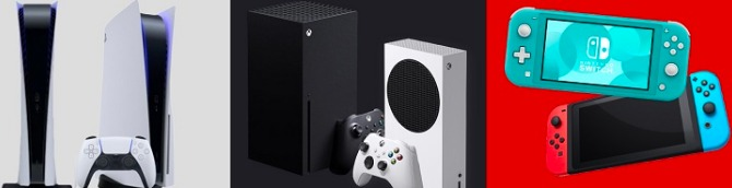 PS5 vs Xbox Series X|S vs Switch Sales Comparison Charts Through December 12