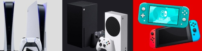 PS5 vs Xbox Series X|S vs Switch Sales Comparison Charts Through February 27