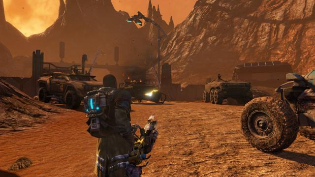 Red Faction Guerrilla Re-Mars-tered rocket launcher