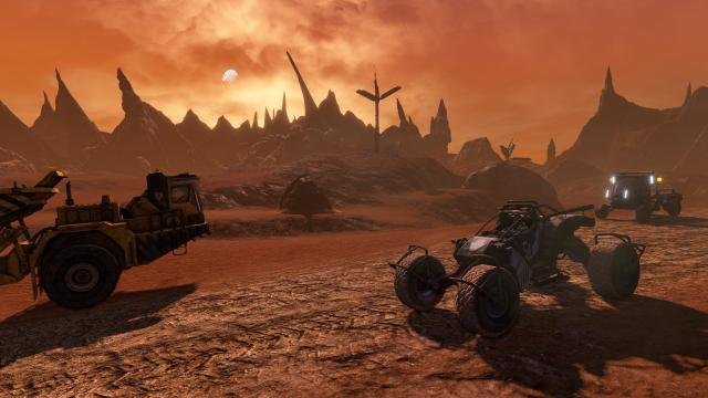 Red Faction Guerrilla Re-Mars-tered vehicles