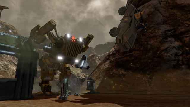 Red Faction Guerrilla Re-Mars-tered walker