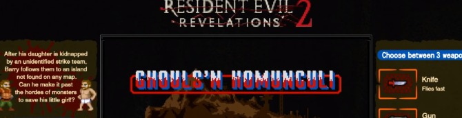Resident Evil: Revelations 1 and 2 on Switch Adds Exclusive Retro Minigames