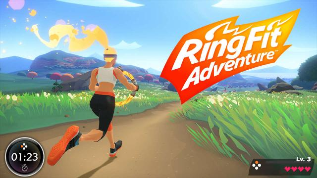 Ring Fit Adventure Sales