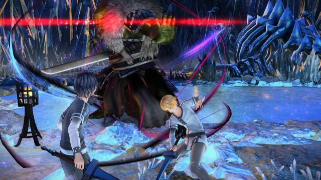 SAO Alicization Lycoris Combat 'Looks Like Dark Souls