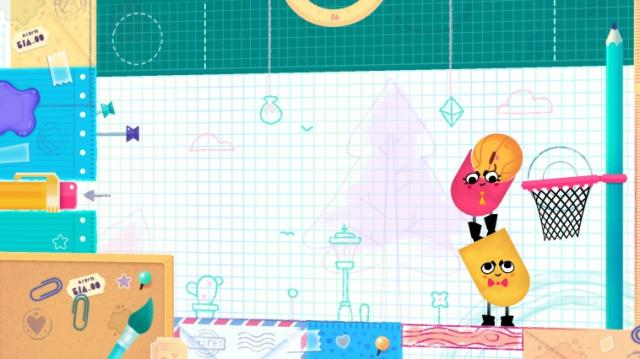 Snipperclips Basketball