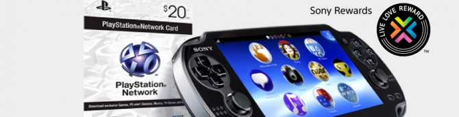 SCEA Offering $20 PSN Cards as Part of Vita Referral Program