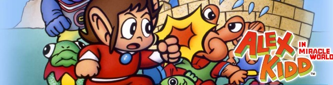 SEGA Ages: Alex Kidd in Miracle World Trailer Released