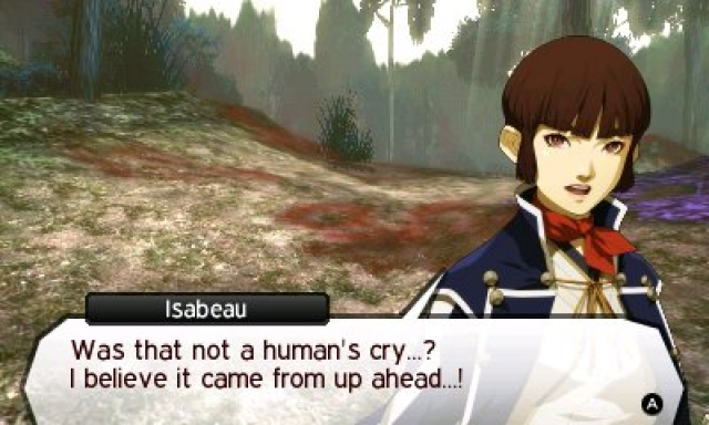 I don't know, was it or was it not? Be specific, Isabeau!