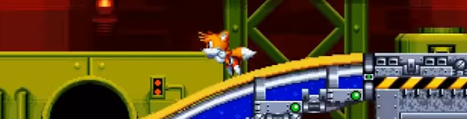 Sonic Mania Gets Chemical Plant Zone Act 2 Gameplay Video