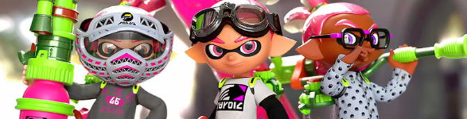 Splatoon Nintendo Direct Set for 7th May