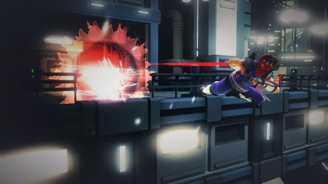 Strider never looks back at explosions.