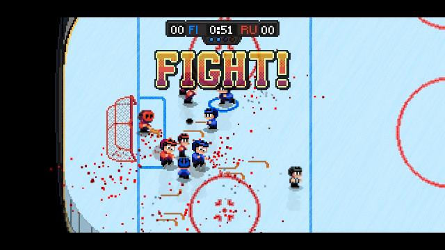 Super Blood Hockey fight