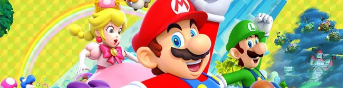 Super Mario Bros U Deluxe Jumps to the Top of the French Charts