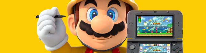 Super Mario Maker for Nintendo 3DS Tops Japanese Charts