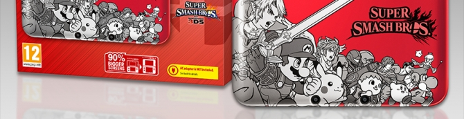 Super Smash Bros. Limited Edition 3DS Bundle Announced for Europe