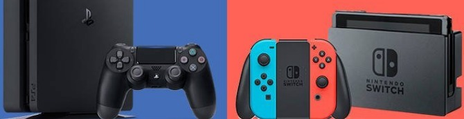 Switch vs PS4 in the US Sales Comparison - Switch Lead Continues to Grow in November 2020