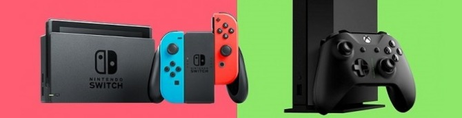 Switch vs Xbox One in the US Sales Comparison – November 2020