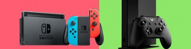 Switch vs Xbox One in the US Sales Comparison - Switch Closes the Gap in August 2020