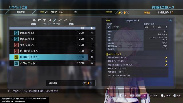 Sword Art Online: Fatal Bullet (PS4) - VGChartz