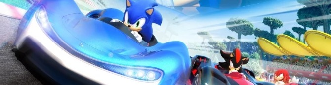 Team Sonic Racing Debuted at the Top of the Swiss Charts