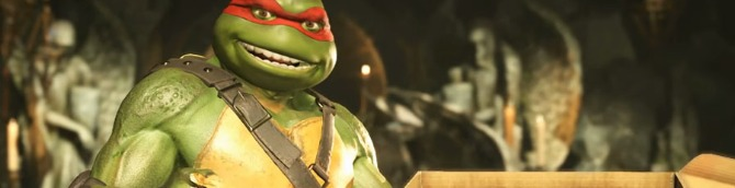 Teenage Mutant Ninja Turtles DLC Out Now for Injustice 2
