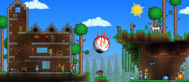 Terraria is coming on Vita!