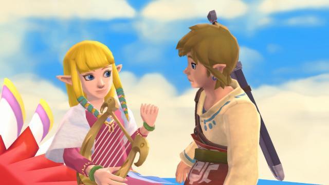 The Legend of Zelda: Skyward Sword HD Tops the Japanese Charts