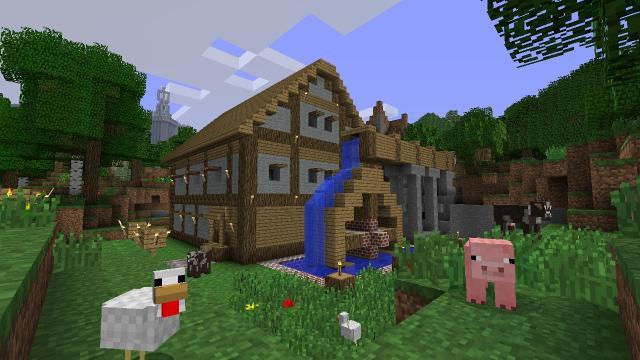 Minecraft Bedrock Version Headed To Ps4 Tomorrow Adds Cross