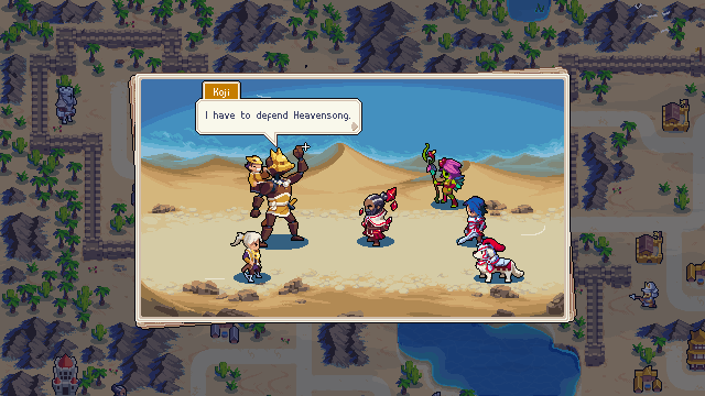 Wargroove story