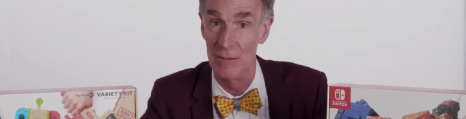 Watch Bill Nye Go Hands-On with Nintendo Labo