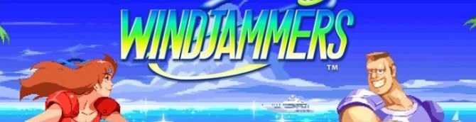 Windjammers Out Now on Switch
