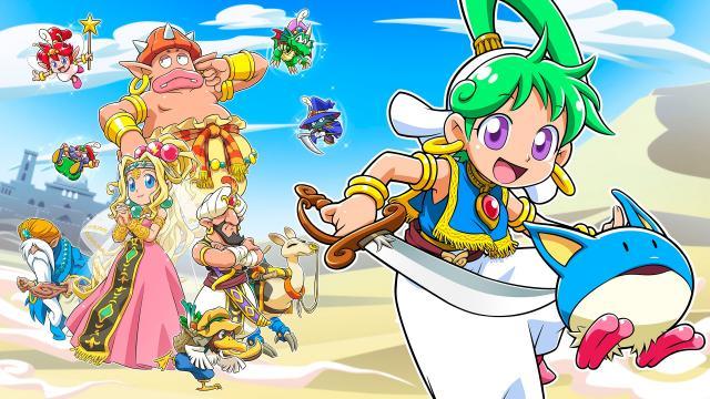 Wonder Boy: Asha dans Monster World annoncé pour Switch et PS4
