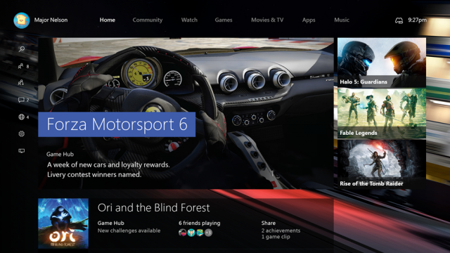 New Xbox One Dashboard Coming This Fall & Xbox One Chatpad ...