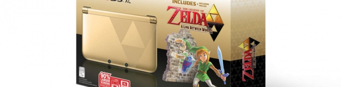 Zelda 3DS XL Bundle Coming to North America on November 22nd