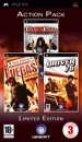 Action Pack: Prince of Persia: Rival Swords / Tom Clancy's Rainbow Six Vegas / Driver 76