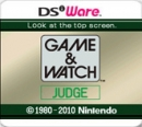 Game & Watch: Judge
