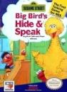 Sesame Street: Big Bird's Hide & Speak